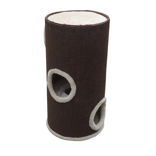SCRATCHING POST TOWER TON BROWN/BEI 36x35x70CM brown
