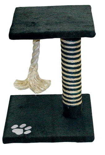 SCRATCHING POST FLOR 35x35x44CM grey/anthracite