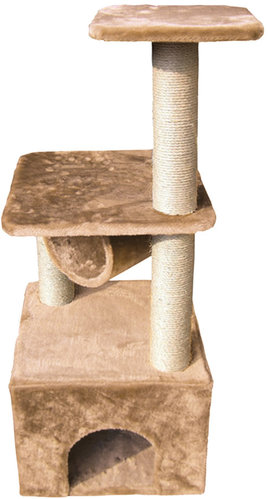 SCRATCHING POST ORION 40x40x117CM beige