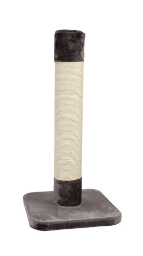 SCRATCHING POST TRUMP TOWER 56x56x120CM grey