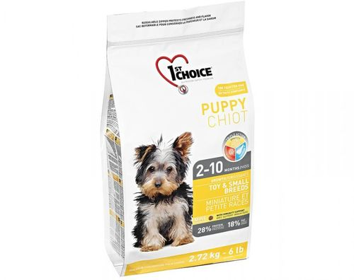 1st Choice Puppy Toy & Small Breed 7 kg